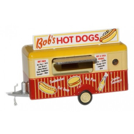 Bob's Hot Dogs Mobile Trailer