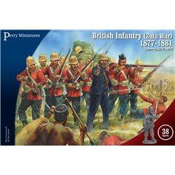 British Zulu War Infantry 1877/81 - 28mm figures x38