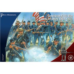 American Civil War Union Infantry 1861-65 - 28mm figures