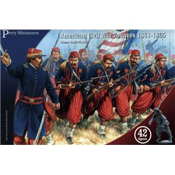 American Civil War Zouaves - 28mm figures