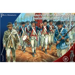 American War of Independence Continental Infantry (28mm)