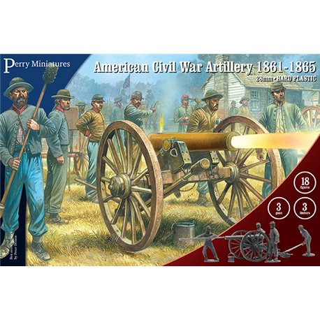 American Civil War Artillery - 28mm figures