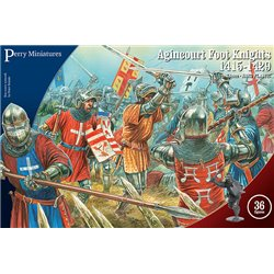 Agincourt Foot Knights 1415-29 - 28mm figures x36