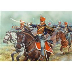 Napoleonic British Hussars - 28mm mounted figures x14