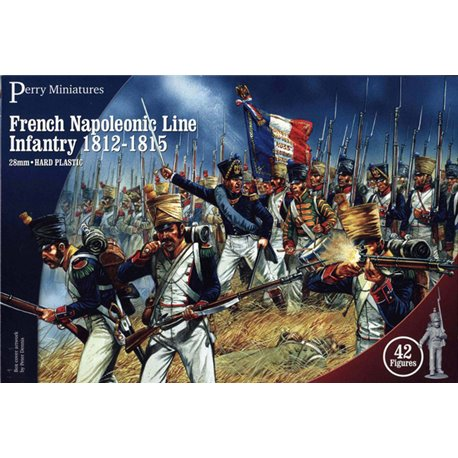 French Napoleonic Infantry - 28mm figures x42