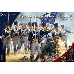 Nap. Prussian Line Infantry & Volunteer Jagers (28mm) x46