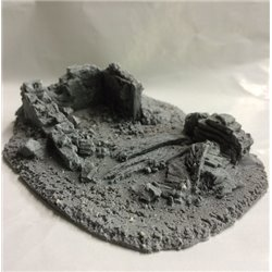 25/28mm Small Derelict Building - Type 11