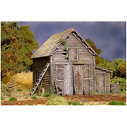 Ramshackle Barn - 28mm - 1/56 scale