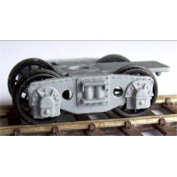 GWR Plate Bogies (pair - one wagon)