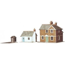 Station Masters House (130 x 100mm) & Cottage (94 x 73mm)