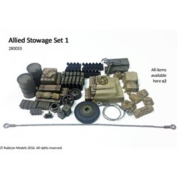 Rubicon Plastic - 28mm Allied Stowage