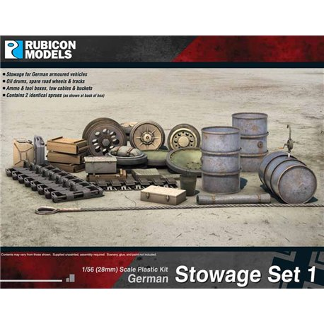 28mm German Stowage Set