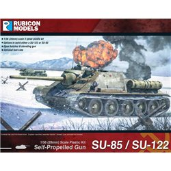 Soviet SU85/SU122 Self Propelled Gun