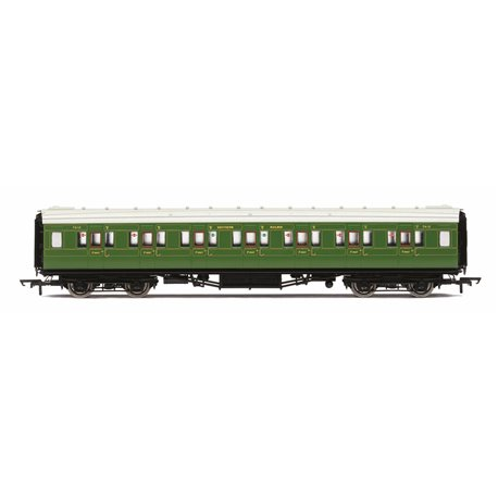 SR Maunsell Corridor First Class '7412', Olive