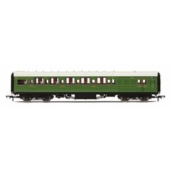 SR Maunsell Corridor Brake Third Class '3779' - Set 243, Olive