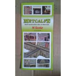 Metcalfe N gauge catalogue