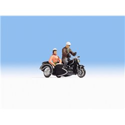 BMW R60 Motorbike with Sidecar