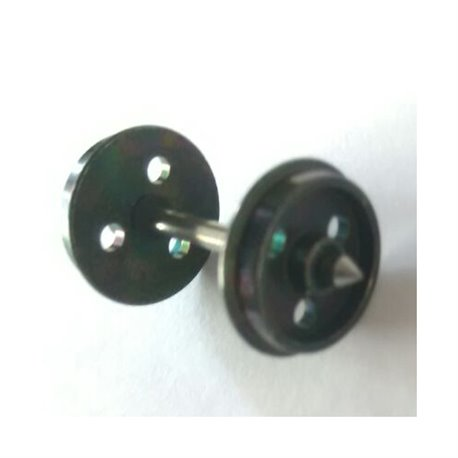 12mm 3-Hole Disc Wheels