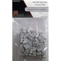 Large bricks grey -48 bags