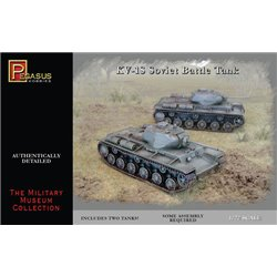 Kv-1s soviet battle tank (2 per box) 1/72 scale