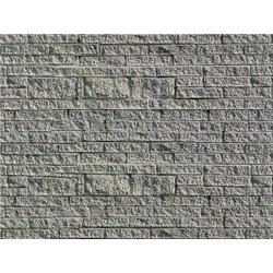 HO Gneiss wall embossed card sheet 250x125mm