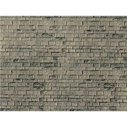 HO Weathered stone embossed card sheet 250x125mm