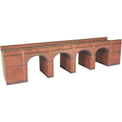 N Gauge Red Brick Viaduct Kit