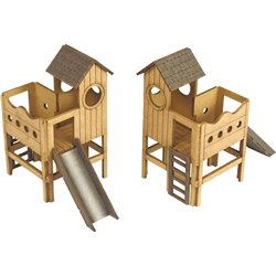00/H0 Scale Childrens Play Area
