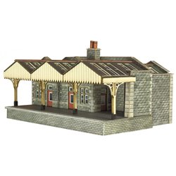 N Scale Parcel Offices