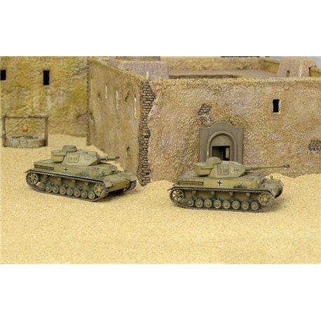 Sd.Kfz.161 Pz.Kpfw.IV F1/F2 x 2 Fast Assembly Kits - scale 1 : 72