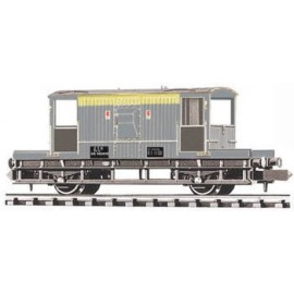 BR Brake Van. Civil Engineers livery
