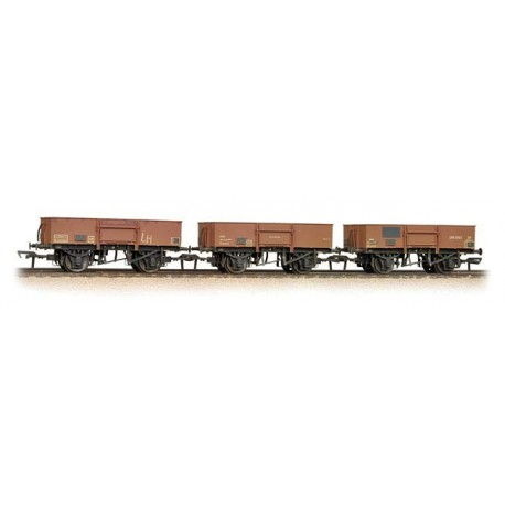 Triple Pack 13 Ton High Sided Steel Open weathered
