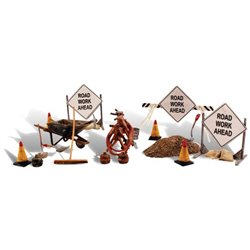 O Scale Road Crew Details