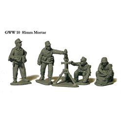 81mm Mortar and 4 crew