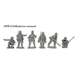 German Platoon Command (6 Figures)