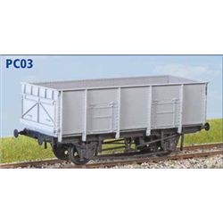 BR 21t Coal Wagon - OO unpainted plastic kit
