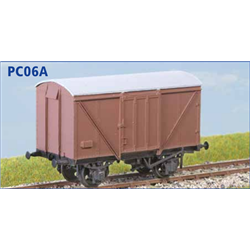 LNER 12 Ton Plywood Goods Van (Diag. 195) BR Condition
