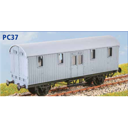 GWR Python Covered Carriage Truck - OO plastic kit