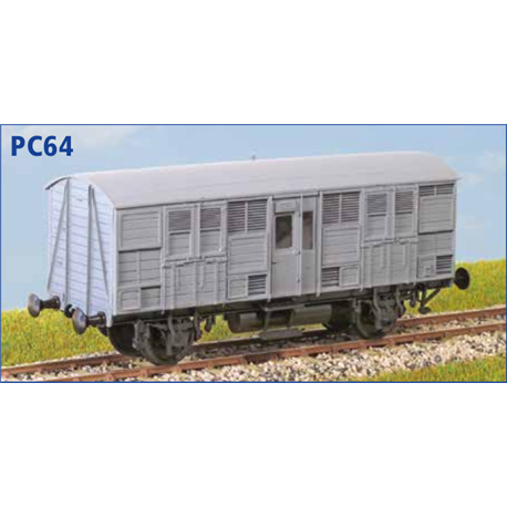GWR 'Beetle' Prize Cattle Van - OO plastic kit