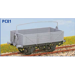 GWR 10t Open Goods Wagon O11/15 - OO plastic kit