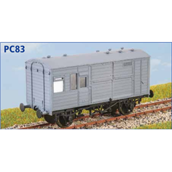 LNER Horse Box 5 - OO plastic kit