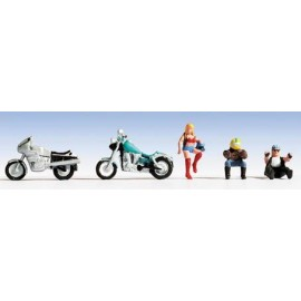 Motorcycles & Riders