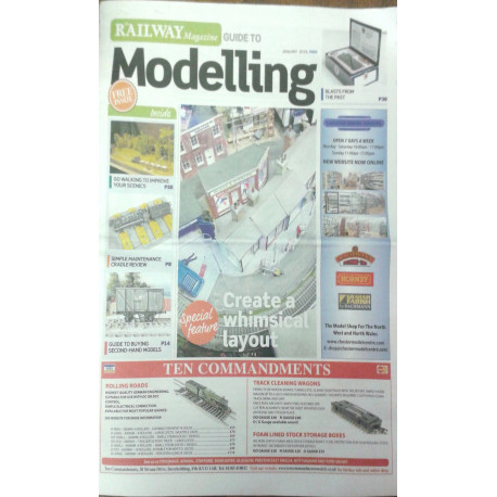Railway Magazine Guide to Modelling January 2018