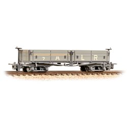 Open Bogie Wagon Ashover Rly Light Grey Weathered