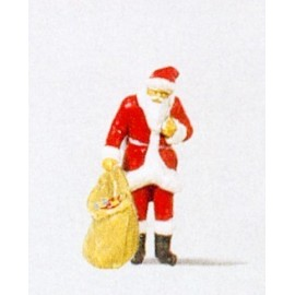 Santa Claus with Sack of Gifts Figure