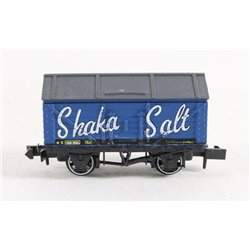 Plank Wagon with Roof - Bright Blue Shaka Salt