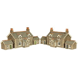 N Scale Workers Cottages