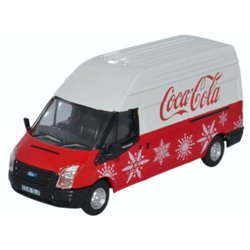 Ford Transit MK5 LWB High Coca Cola