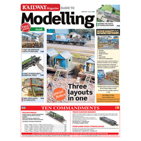 Railway Magazine Guide to Modelling February 2018