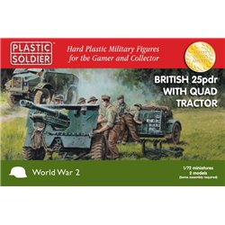 British 25pdr & Morris Quad Tractor - 20mm
